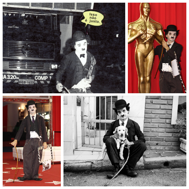 A carreira do ator é marcada por diversas campanhas publicitárias. Fotos: Acervo do artista