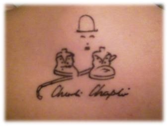 Tatuagem de Milene