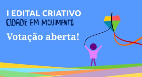 O  projeto concorre na modalidade 2: Invervenção Urbana e Cultura Livre