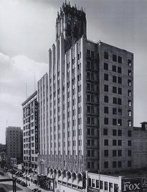 Edifício da United Artists, em pleno funcionamento, na década de 1930. Foto: Ace Hotel