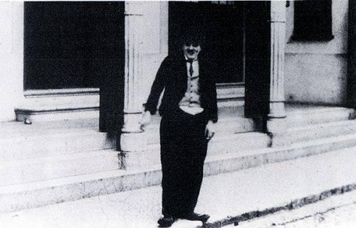 Chegada de Cardo as Charlot a Lisboa, 1916