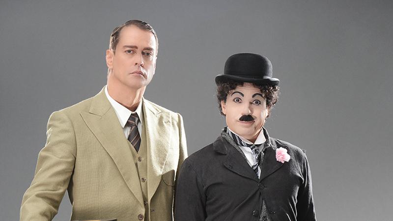 Marcello Antony vive o irmão de Chaplin, Sidney.